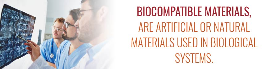 cold formed biocompatible materials